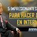 5 IMPRESIONANTES FORMAS PARA GANAR DINERO POR INTERNET