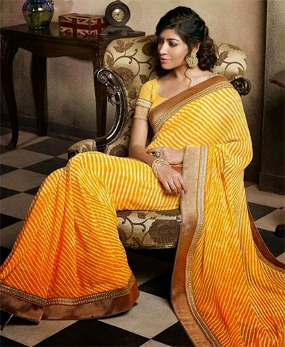 Different Types of Indian Sarees Available in India