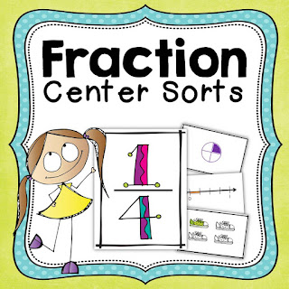 https://www.teacherspayteachers.com/Product/Fraction-Sorts-270453