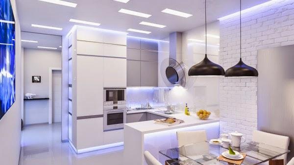 10 Cocinas Modernas Que Cualquier Chef Envidiaria Cocina Y Muebles - Cocinas-futuristas