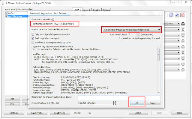 Cara Setting Mouse Biasa Menjadi Macro Dengan XMBC
