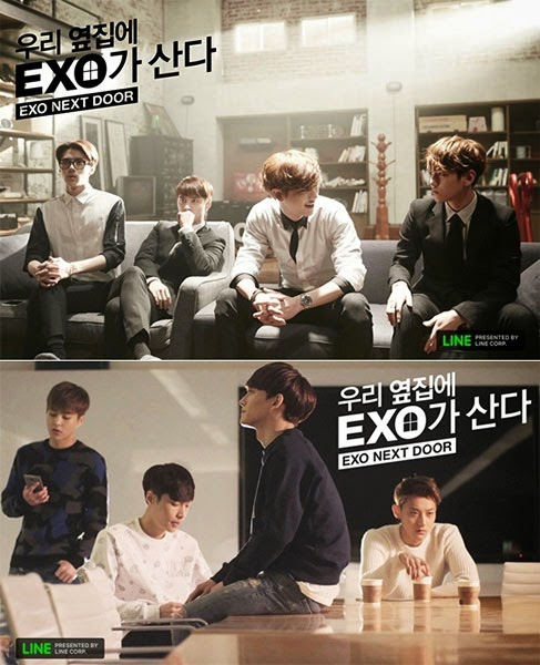 EXO Next Door Subtitle Indonesia