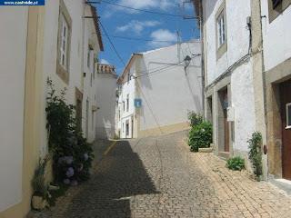 Rua de São Pedro,  de Castelo de Vide, Portugal (Street)