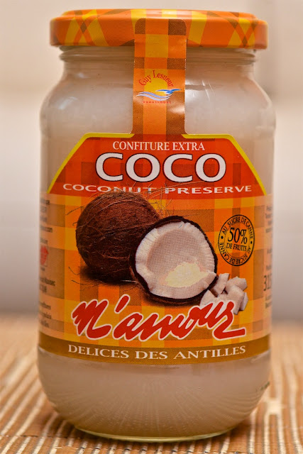 Confiture de Noix de Coco M'amour - Dessert - Exotique - Guadeloupe - Fruits - Coconut Jam - Bounty