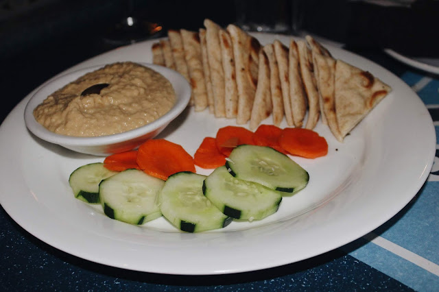 Galveston Travel Guide olympia grill hummus