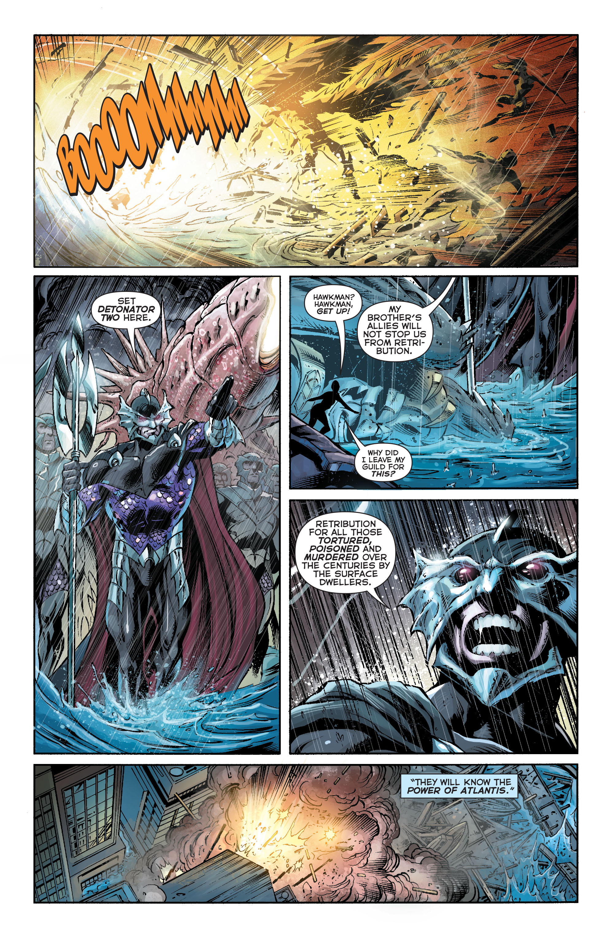Read online Aquaman (2011) comic -  Issue #16 - 11