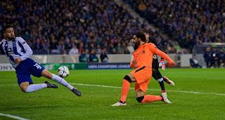 ليفربول يتفنن فى ازلال فريق بورتو بخماسية فى دوري أبطال أوروبا ,ويصبح الفريق الاكثر احرازا للاهداف هاتريك مانى ويكملها محمد صلاح وفيرمينيو