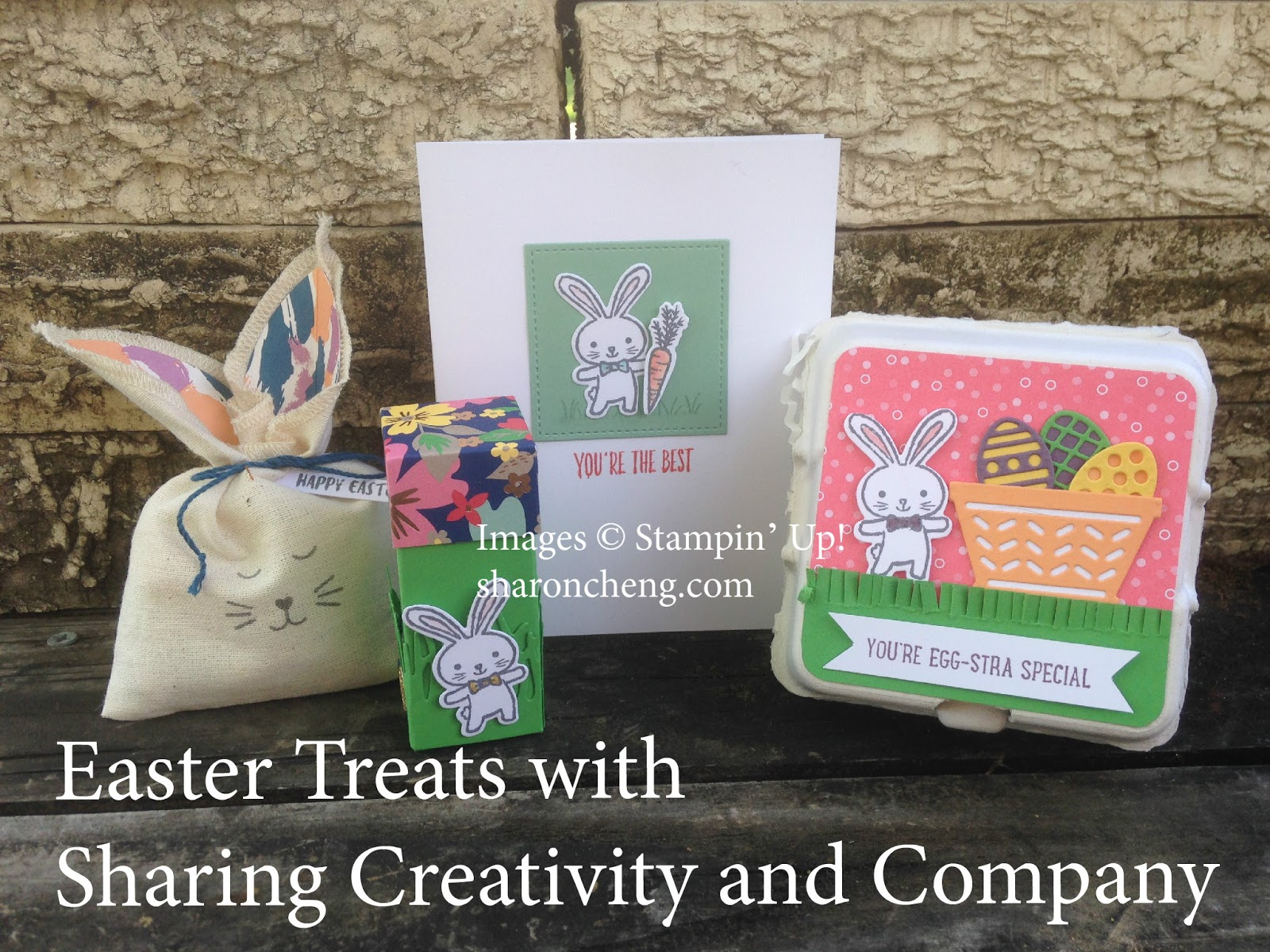 Here are some Easter treats using Stampinu0027