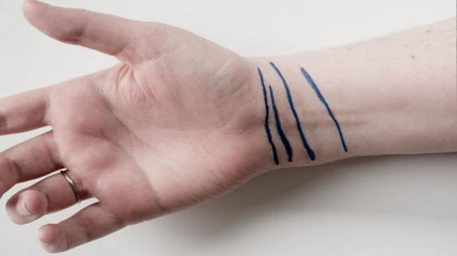 Εάν έχετε τέσσερις γραμμές στον καρπό σας ... υπάρχει ένα ενοχλητικό μήνυμα για σας