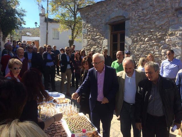 Επίσκεψη του Υπουργού Αγροτικής Ανάπτυξης και Τροφίμων Βαγγέλη Αποστόλου στην Καστάνιτσα Κυνουρίας
