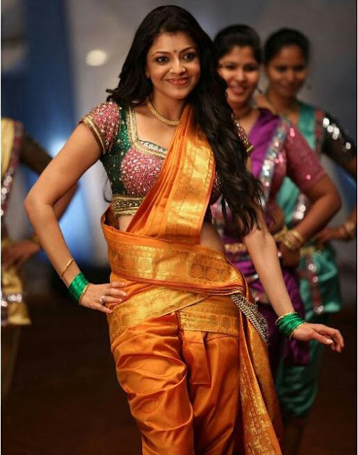 Kajal agarwal at Pakka local item song in janatha garage