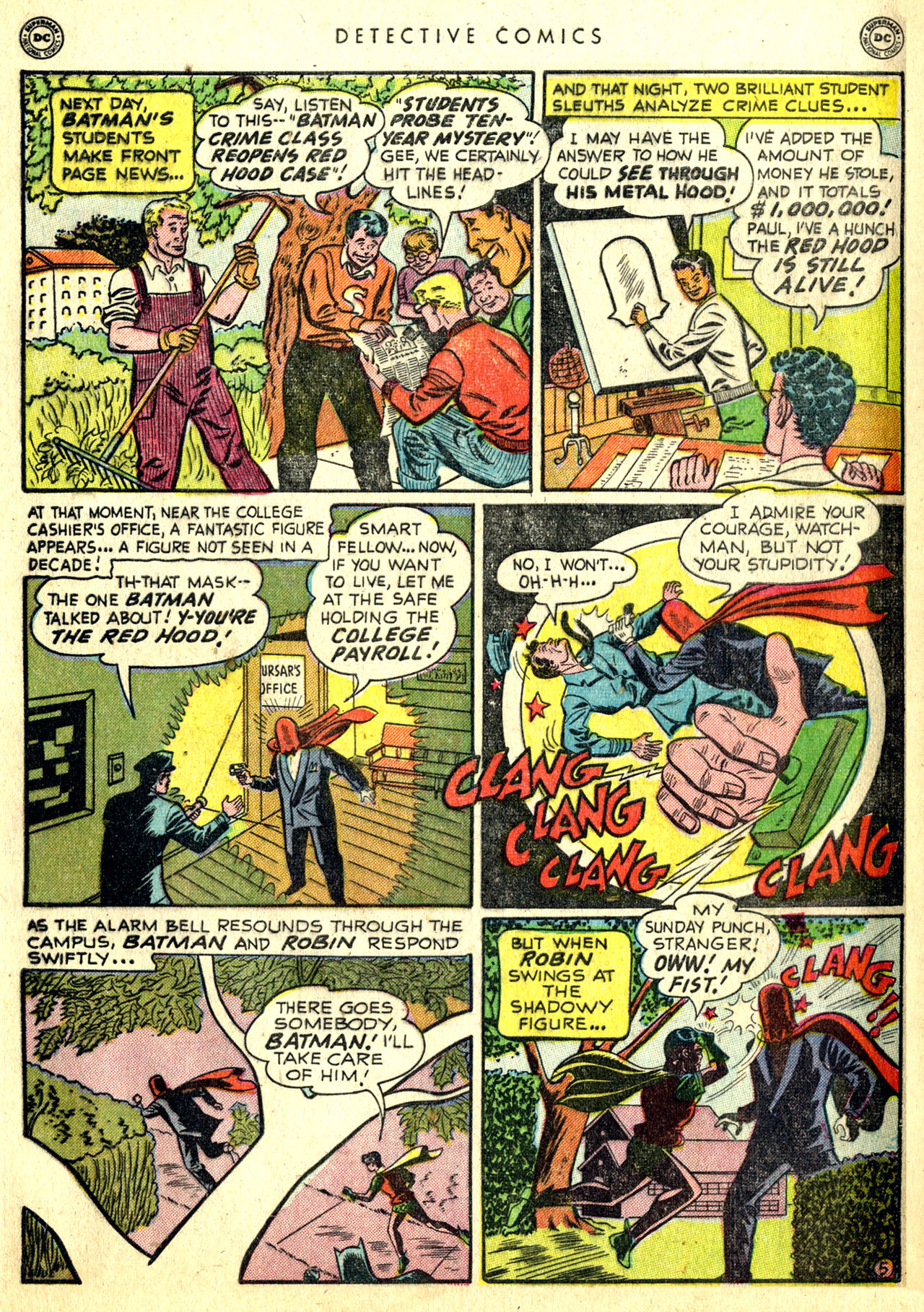 Read online Detective Comics (1937) comic -  Issue #168 - 7