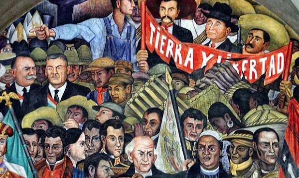 México a través de los Siglos. Historia General y Completa en 5 Tomos