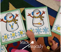 Teach Magically Segmenting for Reading Success Snowmen