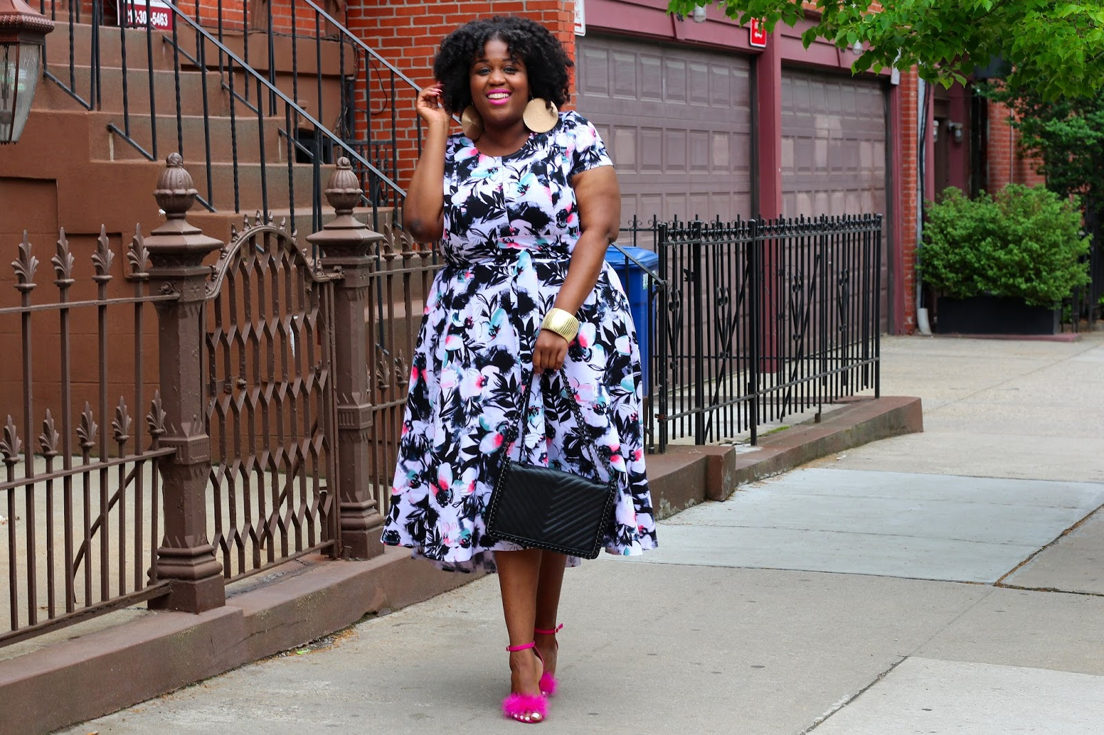 You Need This Spring Dress ft. Lane Bryant. | Q Train