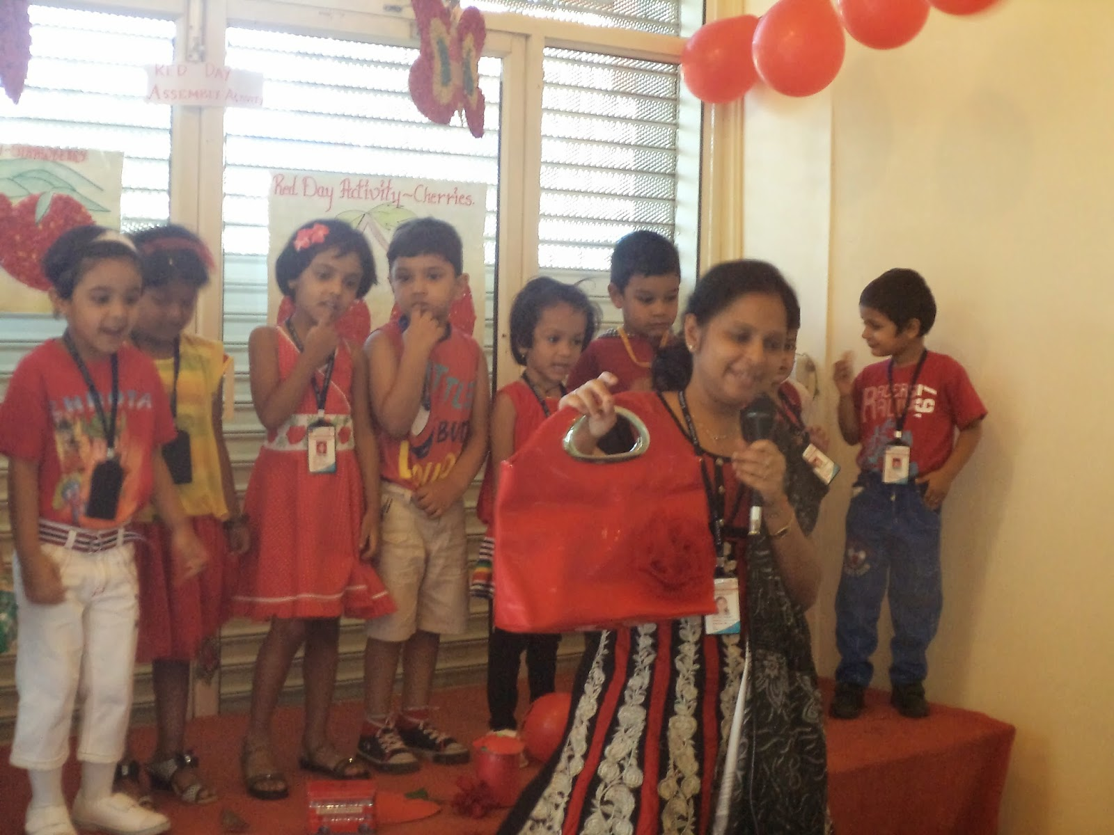LKG-A, Assembly Activity - Red Day | KHARADI