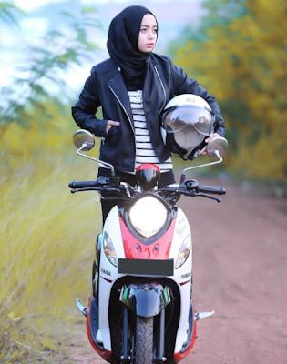 Wanita paling suka motor apa