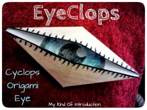 Eyeclops Folding Paper Craft