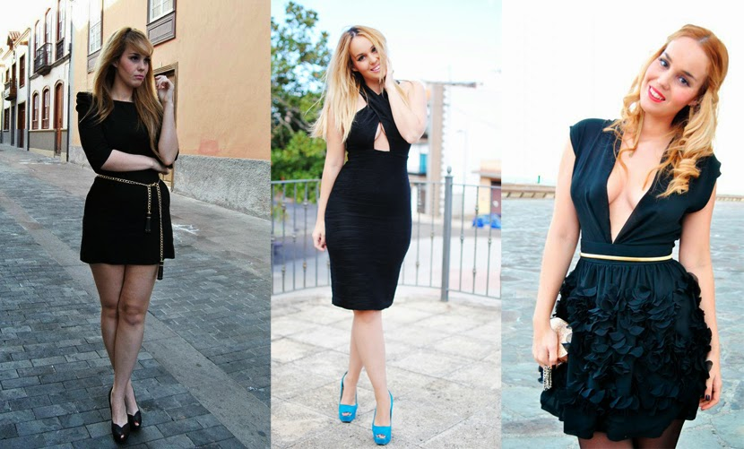 LBD, LITTLE BLACK DRESS, nery hdez