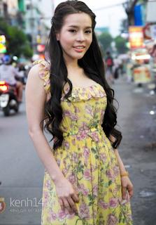 Gái xinh facebook hot girl Vân tokyo