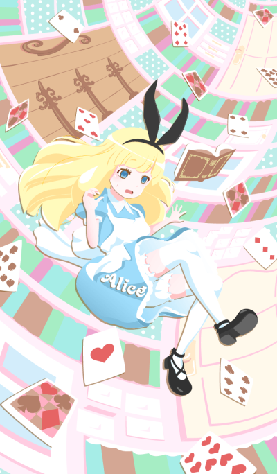 Alice [In Wonderland] Collage