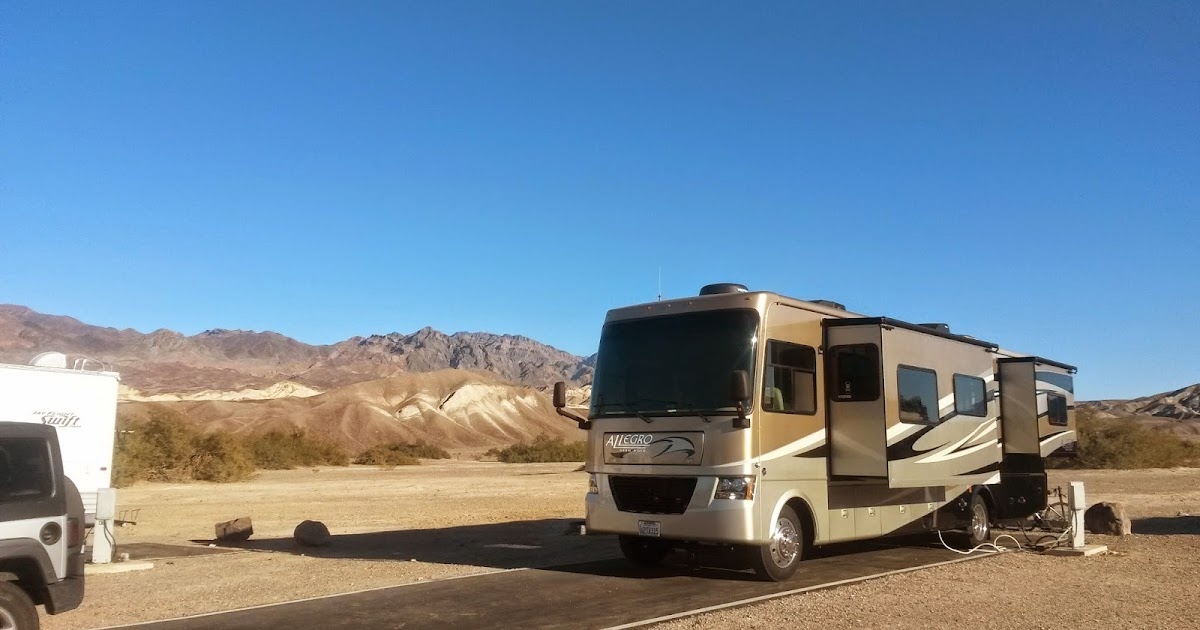 CampgroundCrazy: Furnace Creek Campground, Death Valley ...