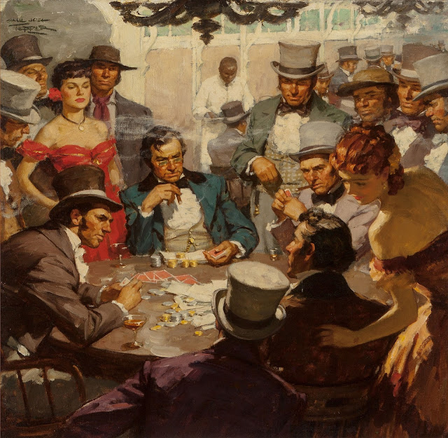 Saul Tepper - Poker Game, c. 1940