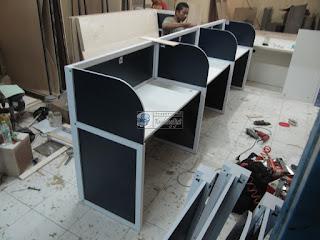 Meja Partisi Kantor - Furniture Semarang