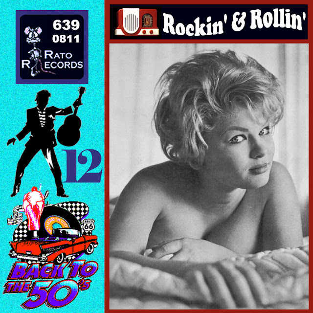 Cd collection Back To The 50's - Rockin' & Rollin' 12 Front