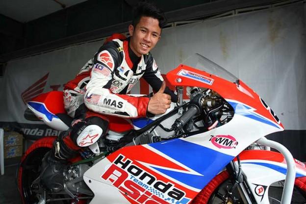Biodata Dan Gambar Khairul Idham Pawi Juara Moto3 Argentina