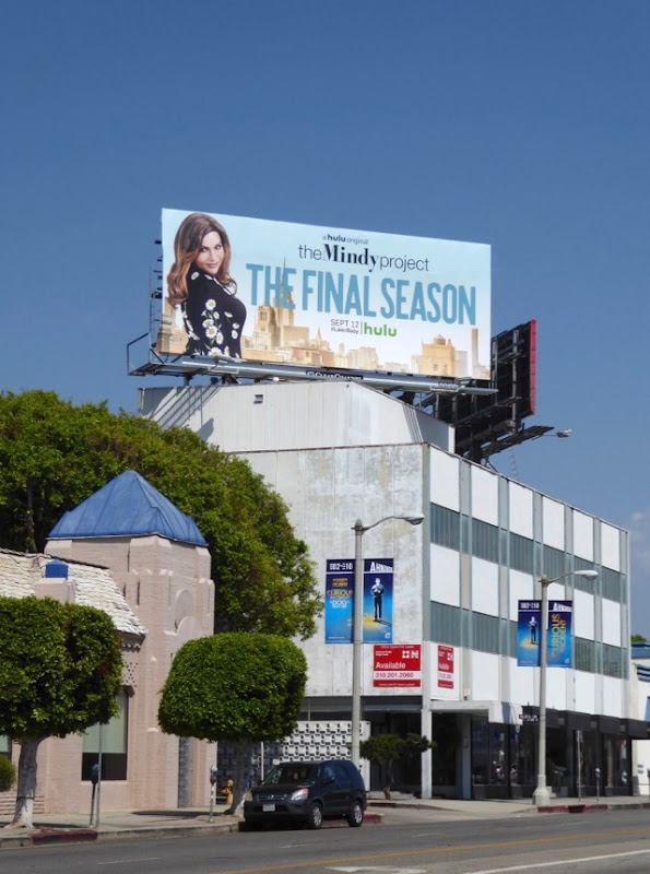 Mindy Project final season billboard