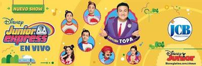 CAPITAN Topa: Junior Express En Vivo En Bogotá  2