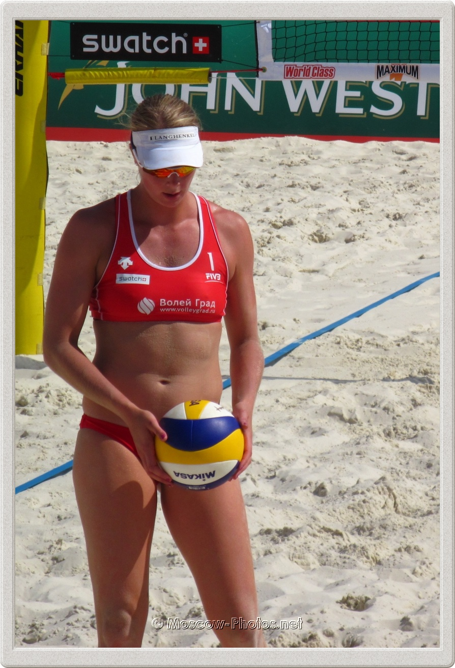 Beach Volleyball Player Madelein Meppelink