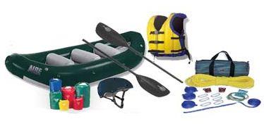 Perlengkap Rafting (Arung Jeram)