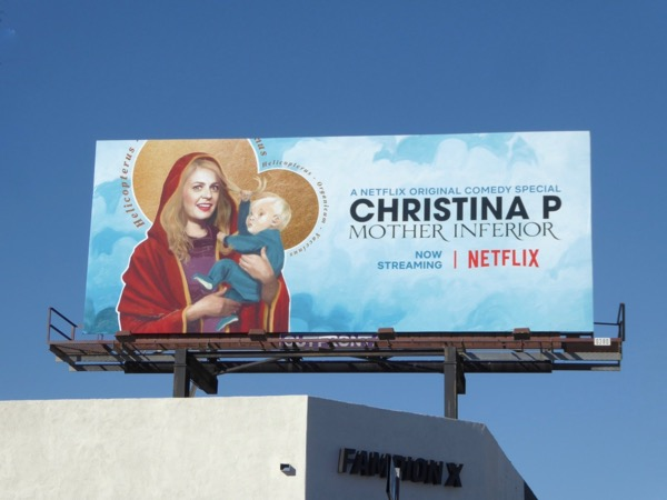 Christina P Mother Inferior billboard