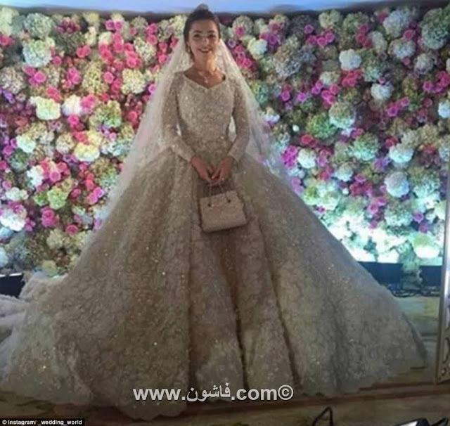 أول حفل زفاف فى العالم بتكلفة مليار دولار