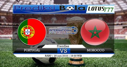 PREDIKSI PORTUGAL VS MAROKO 20 JUNI 2018