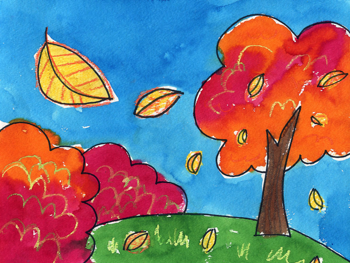 BEAUTIFUL NATURE ART AND CRAFT PRINTABLES FOR KIDS Shop |Nature Paintings For Children
