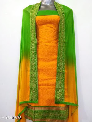 Gorgeous Ethnic Cotton Embroidery Salwar Suits & Dress | COD - cash on delivery available