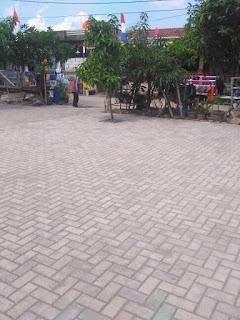beton pra cetak paving block
