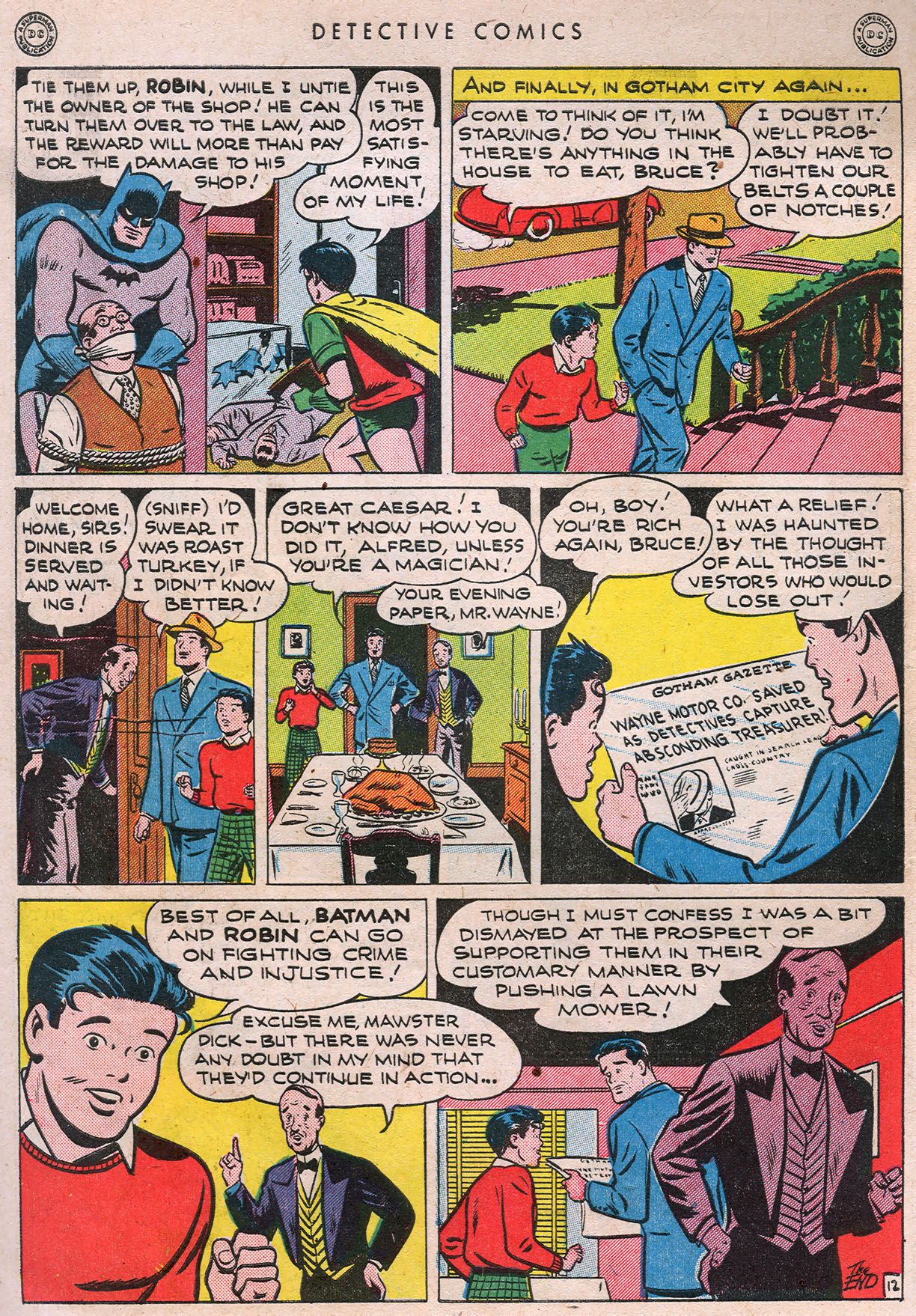 Read online Detective Comics (1937) comic -  Issue #105 - 14