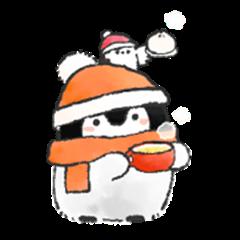 Positive penguins 3