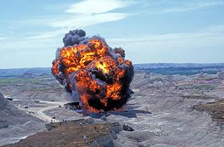 La gran explosión de Starship Troopers