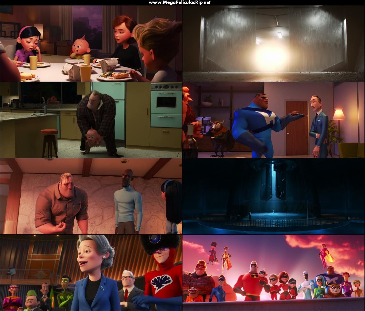 Los Increibles 2 1080p Latino