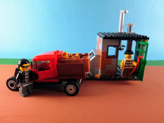 Set LEGO City 60048 Police Dog Unit