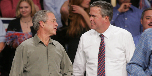 Brother to Jeb's side as Donald Trump stirs Bush country
