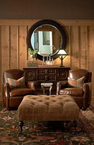 Interior designs by Adrienne Morgan.