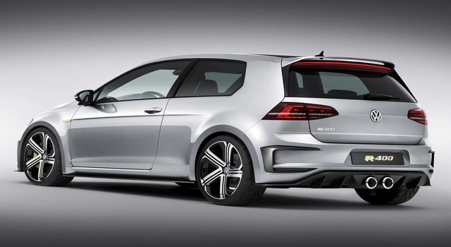 Volkswagen Golf R400 - a 400-horsepower hatchback