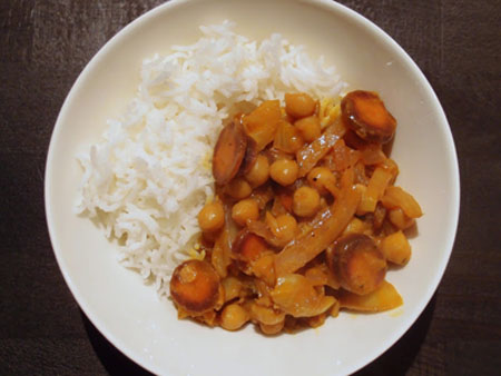 Fennel Chickpea Curry