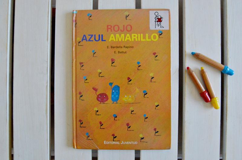 Hoy leemos rojo, azul, amarillo